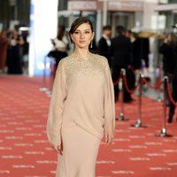 María Valverde llega a los premios Goya 2012