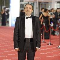 Enrique Villén en la alfombra roja de los Goya 2012