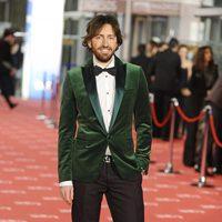 Daniel Sánchez Arévalo cruza la alfombra roja de los Goya 2012