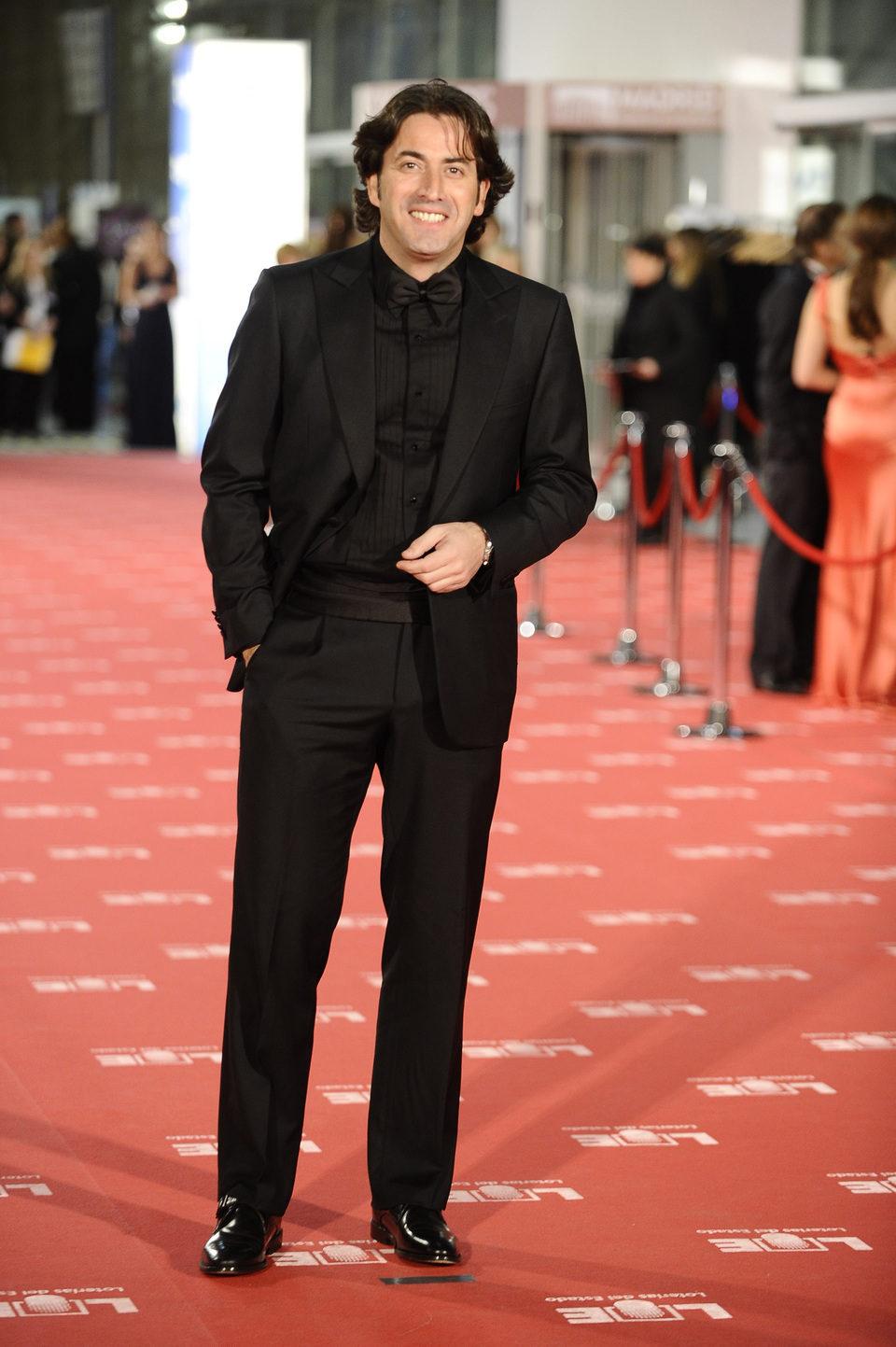 Antonio Garrido en los premios Goya 2012