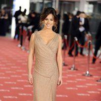 Marta Etura en la alfombra roja de los Goya 2012