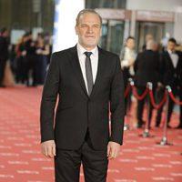 Lluís Homar en la alfombra roja de los premios Goya 2012