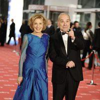 Marisa Paredes y Antonio Resines en los Goya 2012