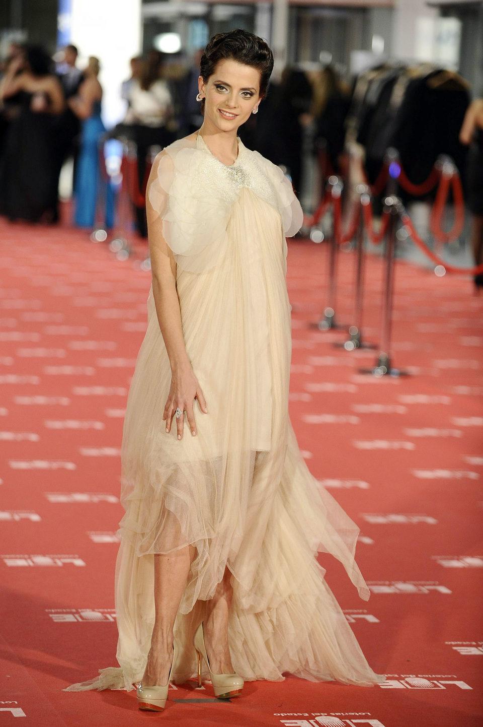 Macarena Gómez en los Goya 2012
