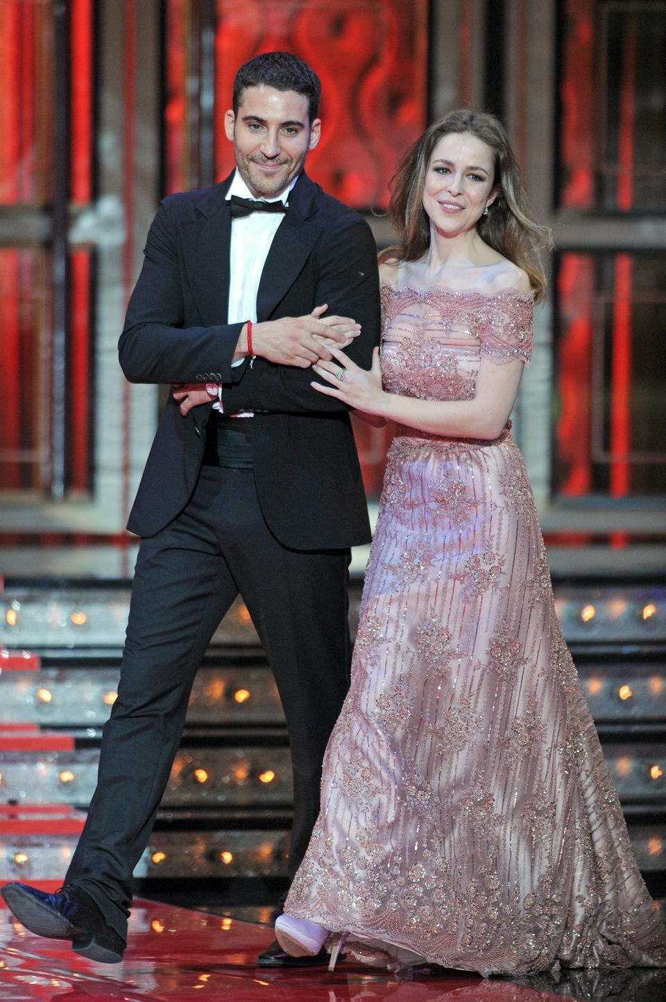 Silvia Abascal y Miguel Ángel Silvestre en los Goya 2012