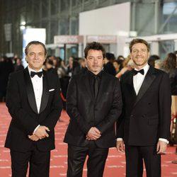 José Coronado, Enrique Urbizu y Juanjo Artero en los Goya 2012