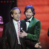 'El muletilla', un espontáneo en los premios Goya 2012