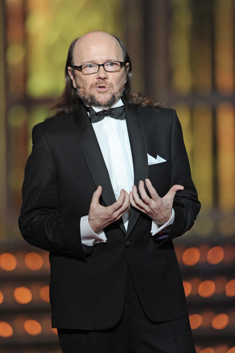Santiago Segura en la gala de los Premios Goya 2012