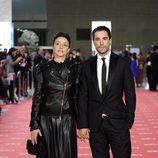 Ingrid Rubio y Unax Ugalde en los Goya 2012