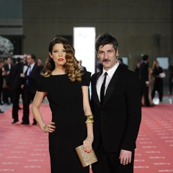 Juana Acosta y Ernesto Alterio en los Goya 2012