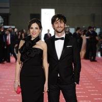 Alicia Rubio y Raúl Arévalo en los Goya 2012