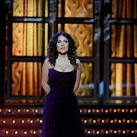 Salma Hayek en la gala de los Goya 2012