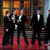 Los raperos de los Goya 2012