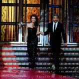 Angie Cepeda y Ricardo Darín salen al escenario de los Goya 2012