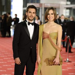 Marc Clotet y su hermana en los Goya 2012
