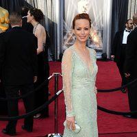 Bérénice Bejo en la alfombra roja de los Oscar 2012