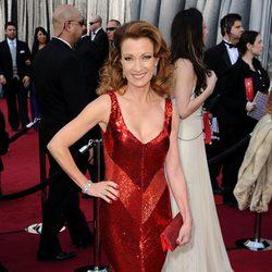 Jane Seymour en la alfombra roja de los Oscar 2012