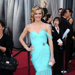 Missy Pyle en la alfombra roja de los Oscar 2012