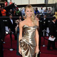 Stacy Keibler en la alfombra roja de los Oscar 2012