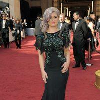 Kelly Osbourne en la alfombra roja de los Oscar 2012