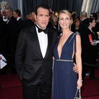 Jean Dujardin en la alfombra roja de los Oscar 2012