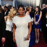 Octavia Spencer en la alfombra roja de los Oscar 2012