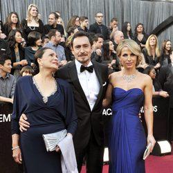 Demián Bichir en la alfombra roja de los Oscar 2012