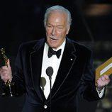Christopher Plummer recibe su Oscar 2012