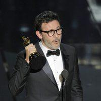 Michel Hazanavicius recibe su Oscar 2012
