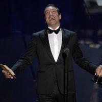 Jean Dujardin celebra su Oscar 2012