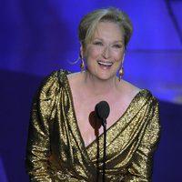 Meryl Streep recibe su Oscar 2012