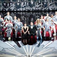 El Circo del Sol en el escenario de los Oscar 2012