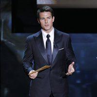 Tom Cruise presenta un Oscar 2012