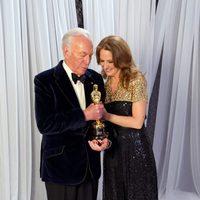 Christopher Plummer y Melissa Leo en los Oscar 2012