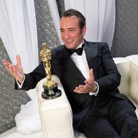 Jean Dujardin, ganador del Oscar 2012 al mejor actor por 'The artist'