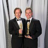 Philip Stockton y Eugene Gearty, ganadores del Oscar 2012 al mejor montaje de sonido