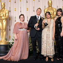 Daniel Junge y Sharmeen Obaid-Chinoy, ganadores del Oscar 2012 al mejor corto documental