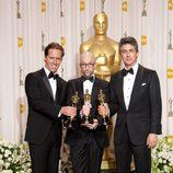 Los guionistas de 'Los descendientes', premiados con el Oscar 2012 por la adaptación del libro