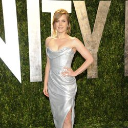Amy Adams en la fiesta de Vanity Fair tras los Oscar 2012