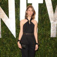Sofia Coppola en la fiesta de Vanity Fair tras los Oscar 2012