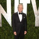 Michael Douglas en la fiesta de Vanity Fair tras los Oscar 2012