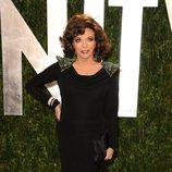 Joan Collins en la fiesta de Vanity Fair tras los Oscar 2012