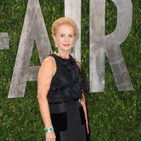 Carolina Herrera en la fiesta de Vanity Fair tras los Oscar 2012