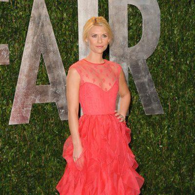 Claire Danes en la fiesta de Vanity Fair tras los Oscar 2012
