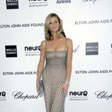 Brooklyn Decker en la fiesta de Elton John tras los Oscar 2012