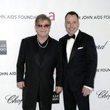 Elton John y David Furnish, anfitriones de una de las fiestas tras los Oscar