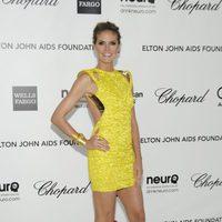 Heidi Klum en la fiesta de Elton John tras los Oscar 2012