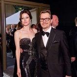Gary Oldman en el Baile del Gobernador tras los Oscar 2012
