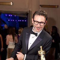 Michel Hazanavicius, ganador del Oscar 2012 al mejor director por 'The artist', espera a que graben su Oscar