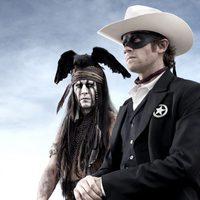 Primera imagen de 'El llanero solitario' con Johnny Depp y Armie Hammer